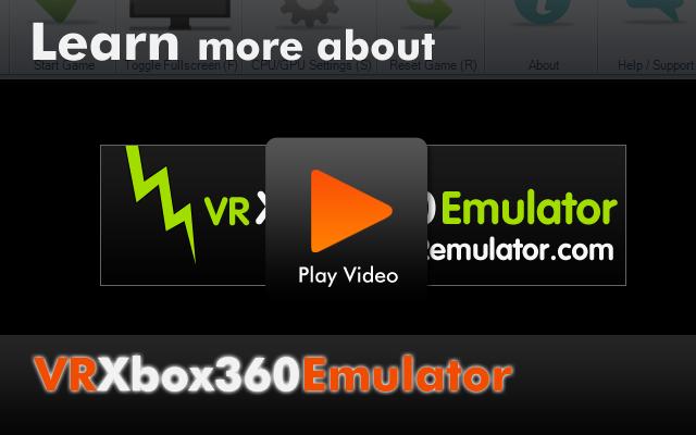 DD: Xbox 360 PC Emulator