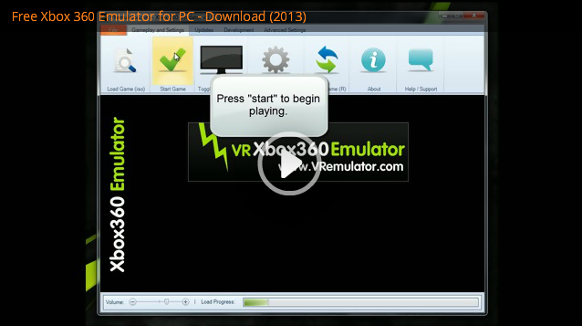 VR Xbox 360 PC Emulator | 30 FPS Xbox 360 Game Emulation